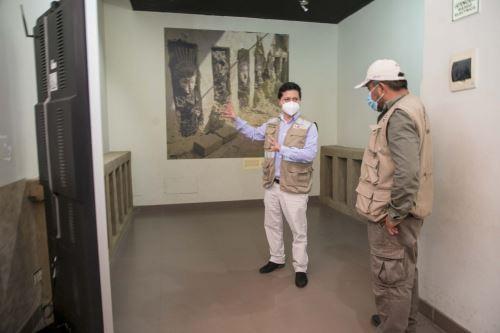 Se han cumplido todos los protocolos para reabrir el Museo de Sitio Chan Chan.