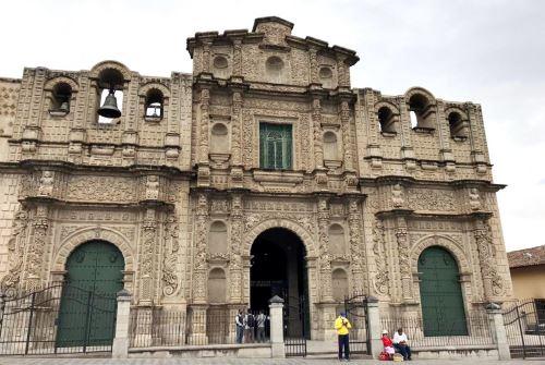 La catedral de Cajamarca está ubicada en la plaza de Armas de la ciudad norandina.