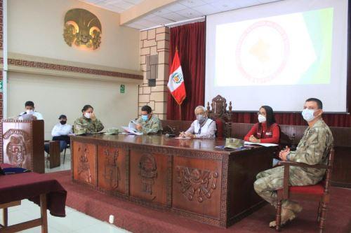 Ceremonia se desarrolló en el auditorio del gobierno regional de Lambayeque.