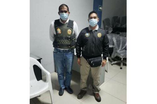El gobernador regional de Áncash, Juan Carlos Morillo, está implicado en presuntas irregularidades en la obra de construcción de módulos temporales para pacientes covid-19.