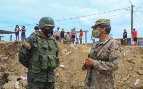 Tumbes: FFAA y PNP clausuran once pasos ilegales en la frontera con Ecuador | Noticias | Agencia Peruana de Noticias Andina
