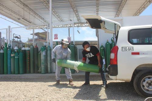 La planta de oxígeno de Respira Trujillo opera desde el 29 de diciembre.