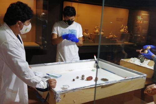 Un equipo de profesionales que laboran en el Museo Tumbas Reales de Sipán ofrecerán un taller virtual sobre manejo de colecciones.