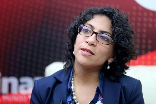 La viceministra Urteaga señaló que se han desarrollado reuniones con artistas, trabajadores de la cultura, gestores culturales.