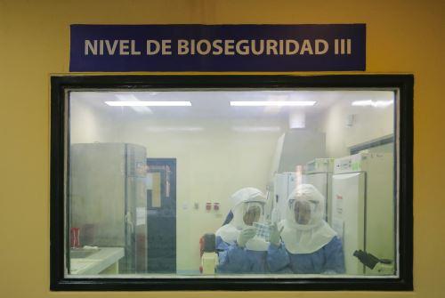 Laboratorio del Instituto Nacional de Salud.