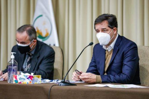 El titular del Minem, Jaime Gálvez, escuchó las inquietudes y los pedidos de las autoridades de la provincia de Grau, región Apurímac.