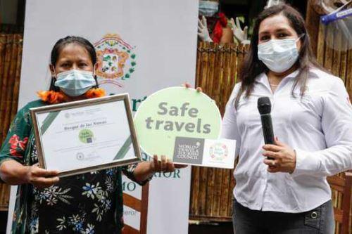 El emprendimiento Bosque de las Nuwas obtuvo el sello Safe Travels.