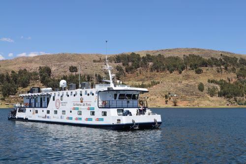 La PIAS Lago Titicaca I zarpará mañana desde el muelle PeruRail de Puno.
