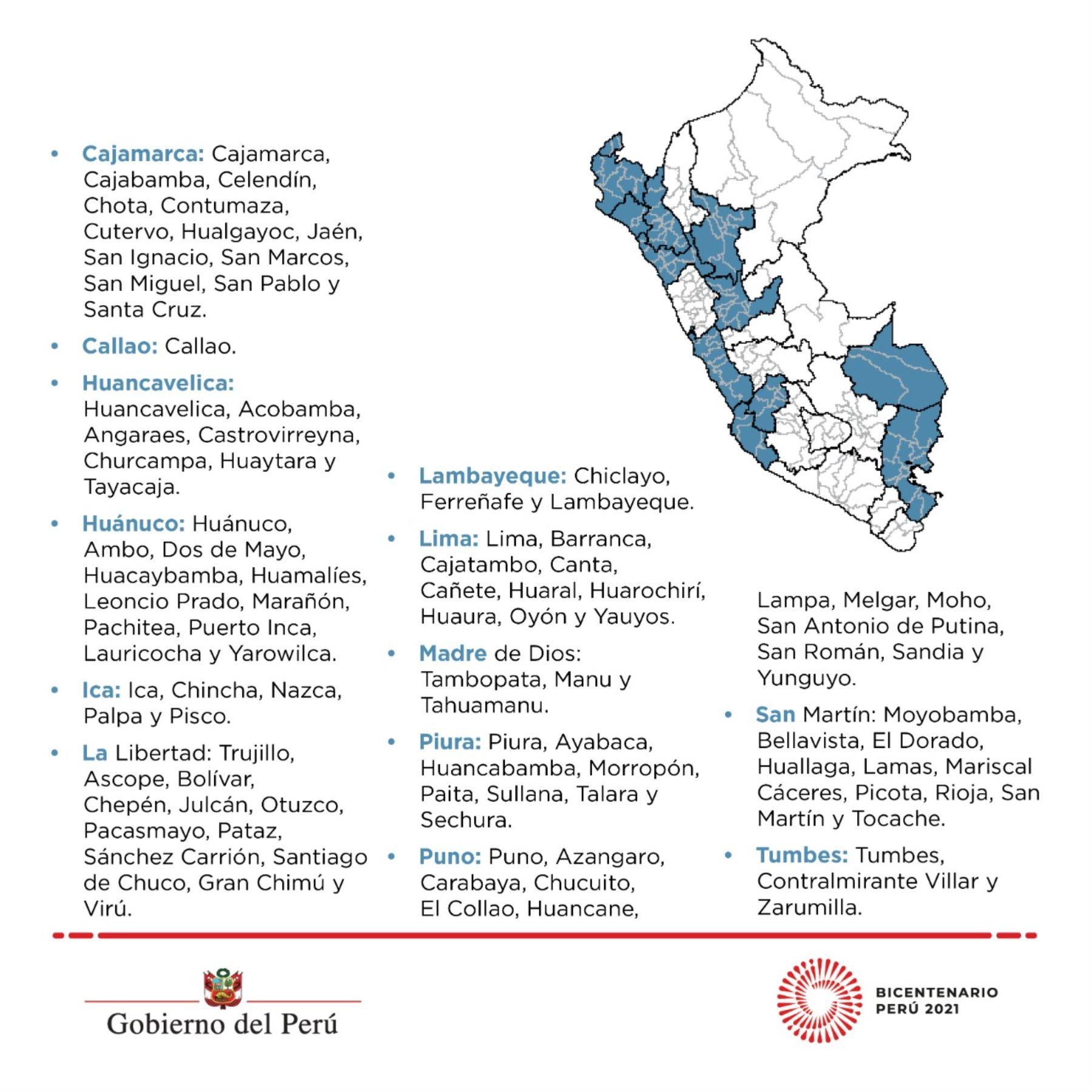 Lima Y Callao Toque De Queda Se Inicia A Las 11 P M Desde Este Lunes 21 Noticias Agencia Peruana De Noticias Andina