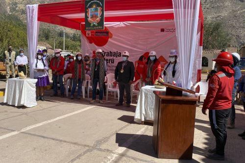El ministro de Trabajo y Promoción del Empleo, Javier Palacios, afirmó que Cusco es una de las regiones más beneficiadas con el empleo temporal.