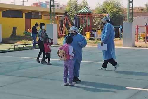 El Cebe Polivalente es el primer colegio de la zona urbana de Arequipa en reiniciar clases semipresenciales.