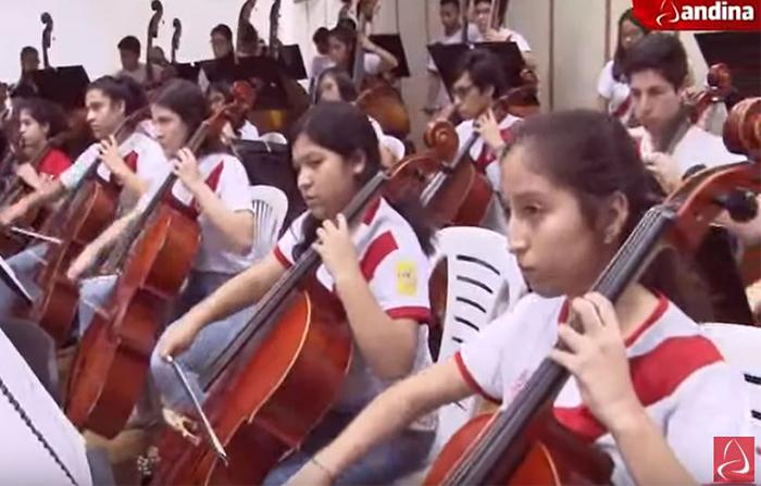Niños músicos de Sinfonía por el Perú ofrecerán concierto por aniversario