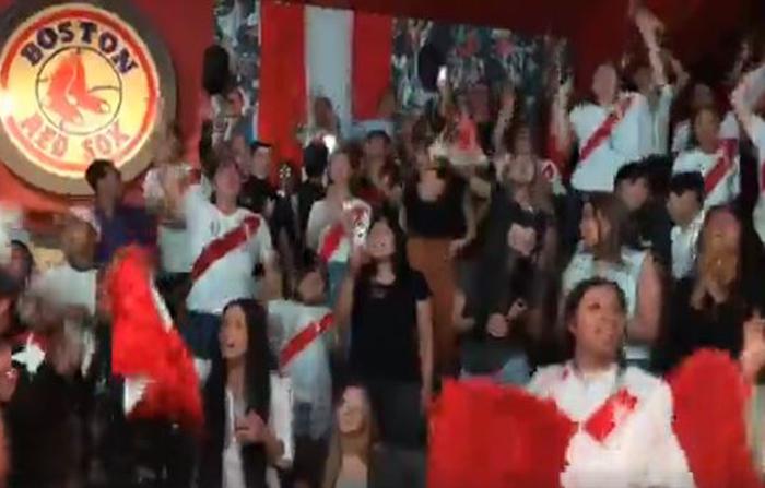Desde Estocolmo, peruanos celebraron segundo gol de la selección nacional y esperan triunfo en último partido de la fase de grupos de Rusia 2018