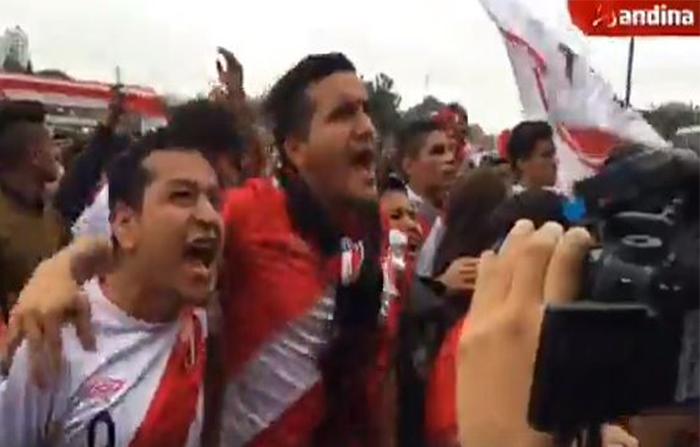 Desde el Estadio Nacional, peruanos celebran triunfo de la Selección Peruana - FPF en último partido de la fase de grupos en Rusia 2018
