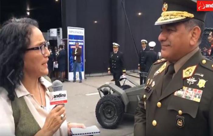 Se inaugura la feria de ciencia y tecnología INNOVA 2018 del Ejército del Perú en el Pentagonito.