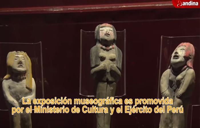 Caral: muestra exhibe 332 objetos arqueológicos en el Real Felipe