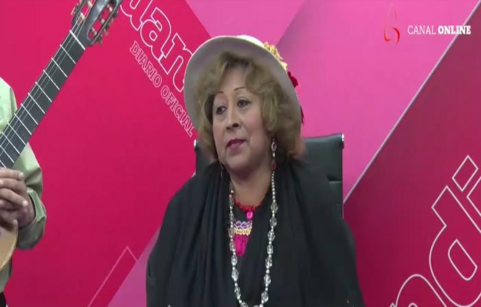 """La """"chinita cordillerana"""" Betty Vega Vidal celebra sus bodas de oro"""