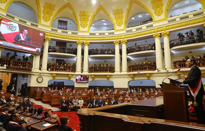 Presidente Martín Vizcarra ofrece Mensaje a la Nación por Fiestas Patrias