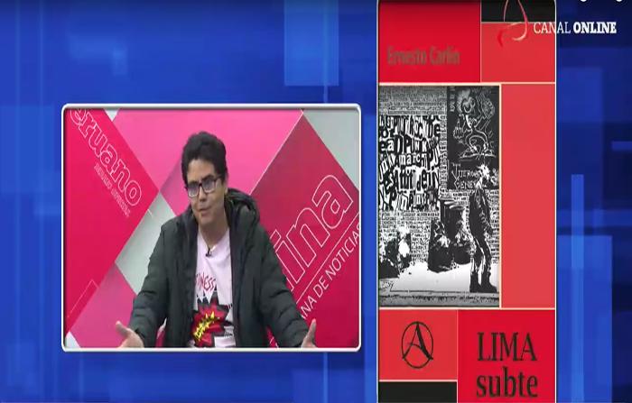"""Reedición de la novela """"Lima Subte"""""""