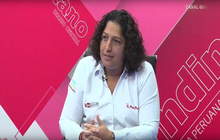 """Entrevista a ministra del Ambiente, Fabiola Muñoz: """"Menos plástico, más"""""""