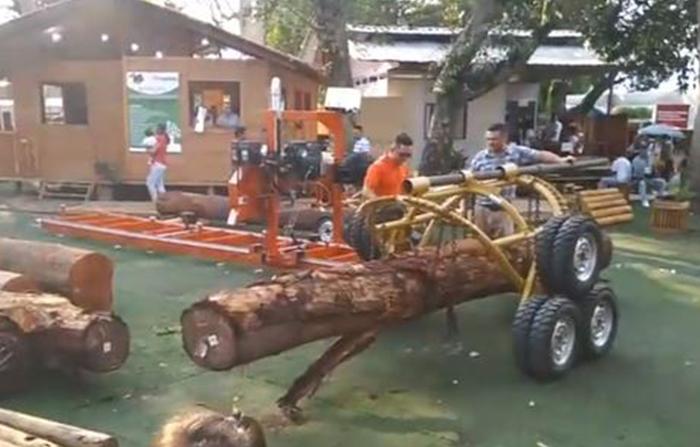Conozca el proceso de producción de la industria maderera en la Expo Amazónica Ucayali 2018.