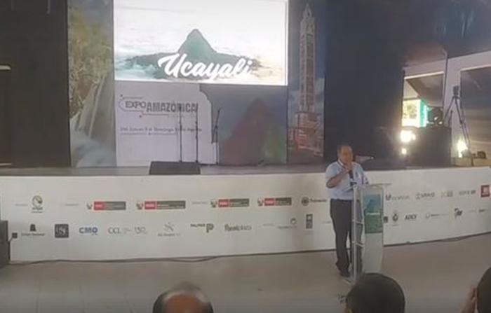 Lanzamiento de la Marca Ucayali desde la ExpoAmazónica 2018.