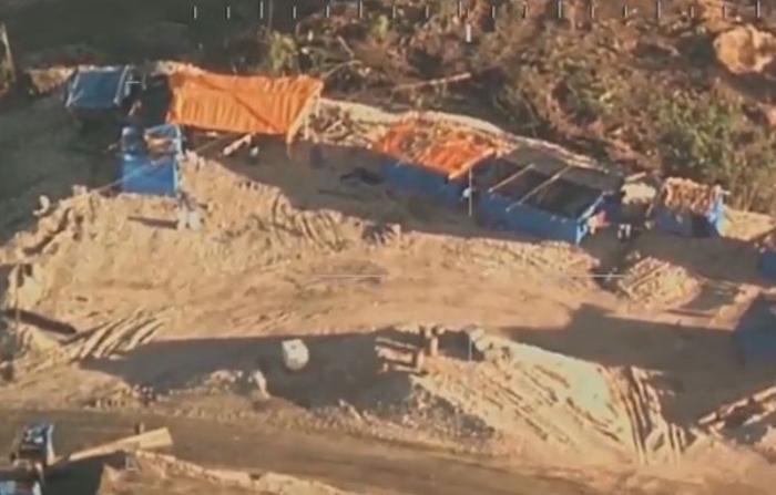 Imágenes de la FAP en Madre de Dios confirma que minería ilegal es el mayor problema