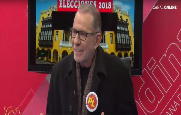 Elecciones 2018, Yo Decido:Ricardo Belmont