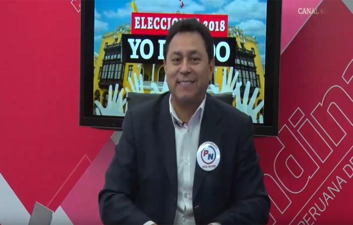 Elecciones 2018, Yo Decido: Luis Enrique Ocrospoma