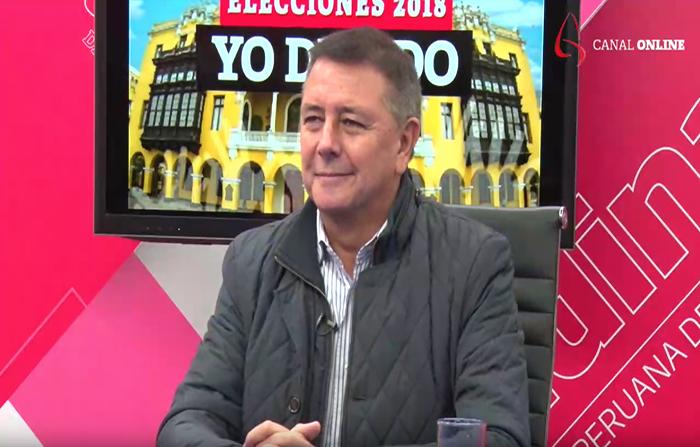 Elecciones 2018, Yo Decido: Jaime Salinas