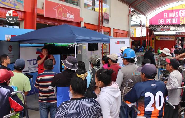 La televisión digital terrestre es una realidad en Perú.