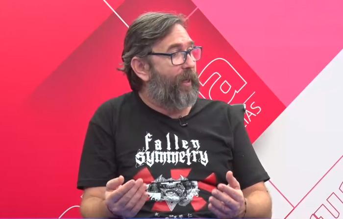 Rock en rojo y blanco con Fidel Gutiérrez