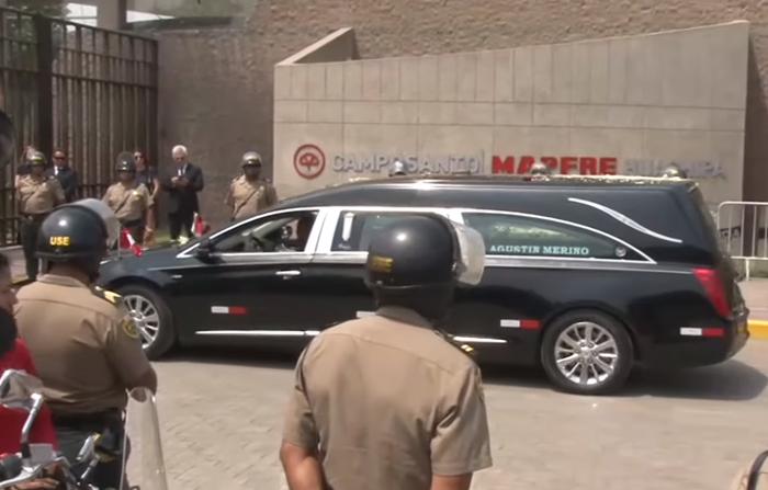 Traslado y crematorio de los restos del ex presidente Alan Garcia.
