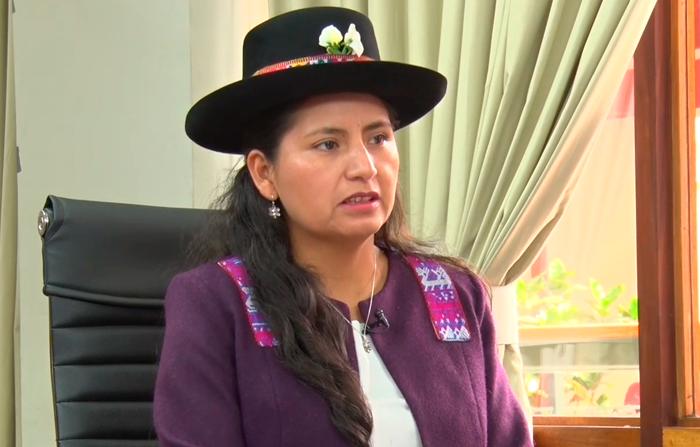 Tania Pariona: Congresista da cuenta de sus proyectos y leyes aprobadas