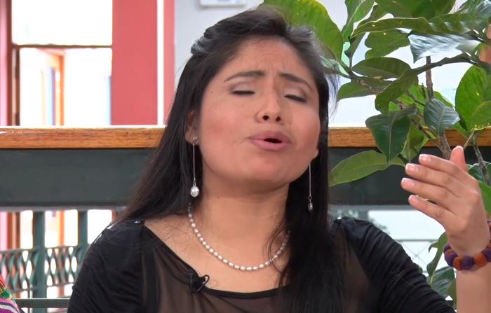 Entrevista a Yesenia Alanya, intérprete de música andina