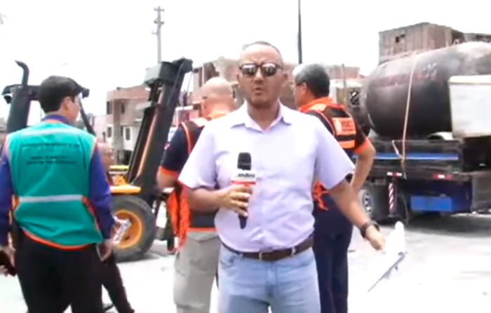 Explosión en Villa El Salvador: dos muertos y más de 50 heridos