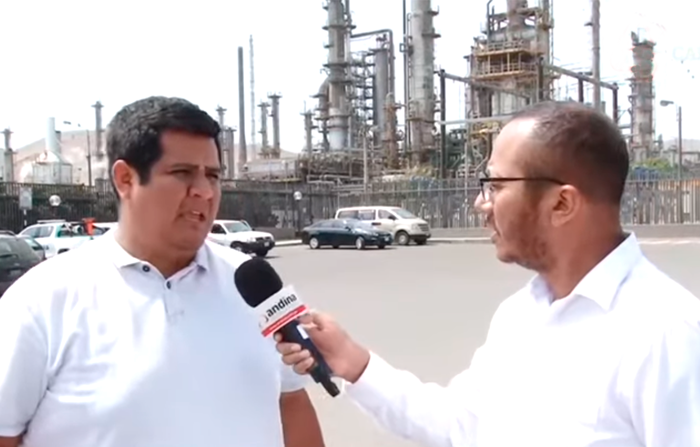 Fuga de gas en La Pampilla - Ventanilla