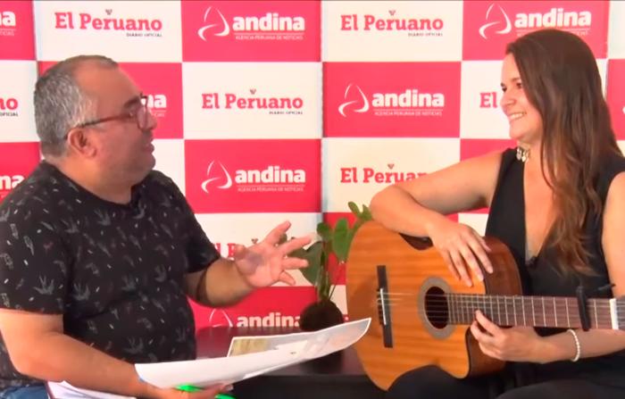 Luz María Carriquiry  y su canto a Chabuca