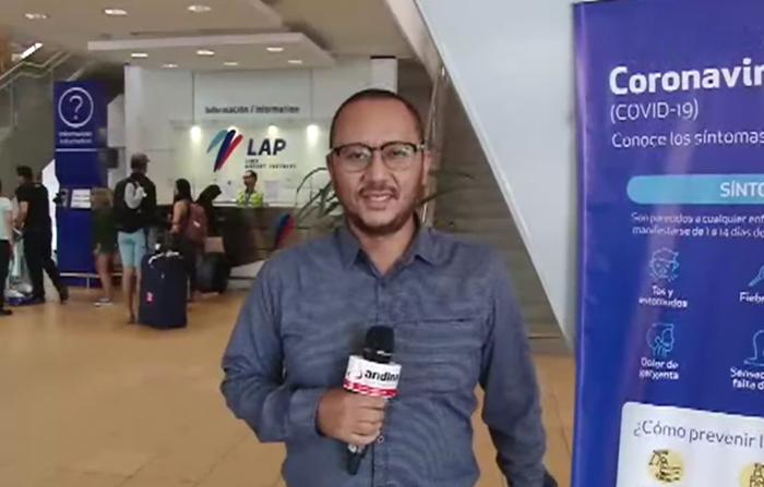 Aeropuerto Jorge Chávez implementa medidas de prevención del coronavirus