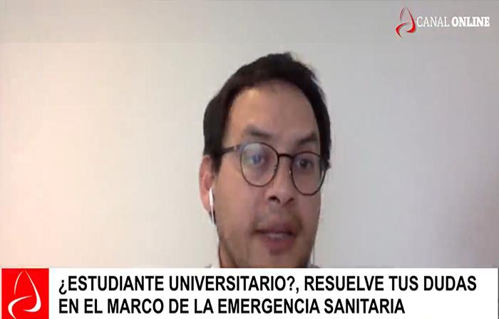 ¿Estudiante universitario? resuelve tus dudas en el marco de la emergencia sanitaria