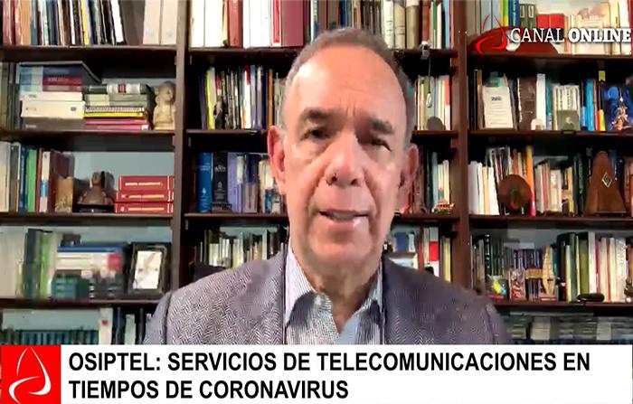 Osiptel: servicios de telecomunicaciones en tiempos de coronavirus