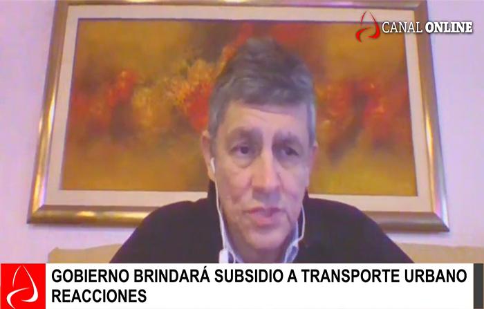 Gobierno brindará subsidio a transporte urbano