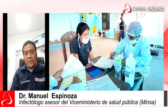 Coronavirus: ¿cómo van los contagios por regiones en el Perú?