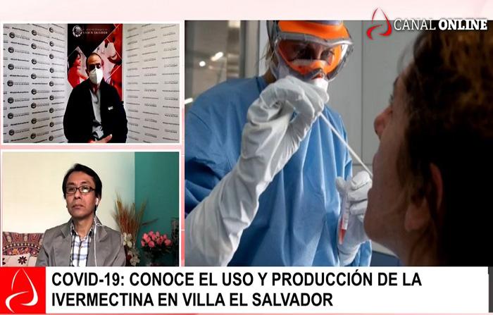 Covid-19: conoce el uso y producción de la Ivermectina en Villa El Salvador