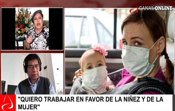 Entrevista a Rosario Sasieta, ministra de la Mujer