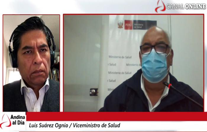 Entrevista a viceministro de Salud, Luis Suárez Ognio