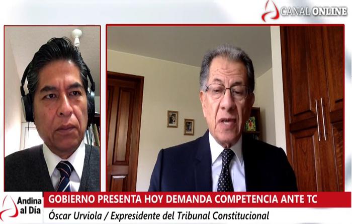 #EnVivo: Gobierno presenta hoy demanda competencial ante el Tribunal Constitucional por moción de vacancia.