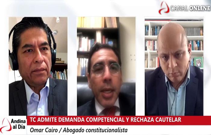 EN VIVO: TC admite demanda competencial y rechaza medida cautelar presentada por el Ejecutivo
