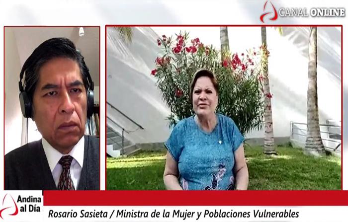 EN VIVO: Congreso debate hoy moción de vacancia. Ministra de la Mujer, Rosario Sasieta, en entrevista.