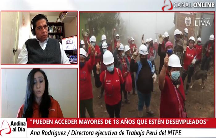 EN VIVO: Trabaja Perú: conoce la oferta de empleos temporales en todo el país